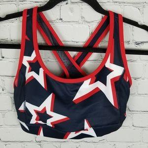 XERSION | criss-cross racerback sports bra